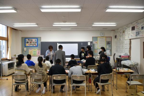 古沢小学校 出張授業